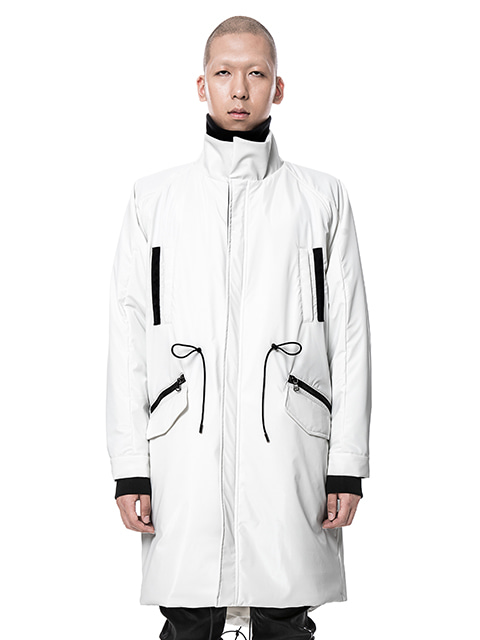 White Long SAVAGE Anorak