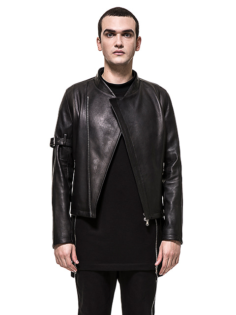 Oriental Leather Jacket