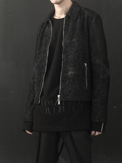 Disperse Leather Jacket