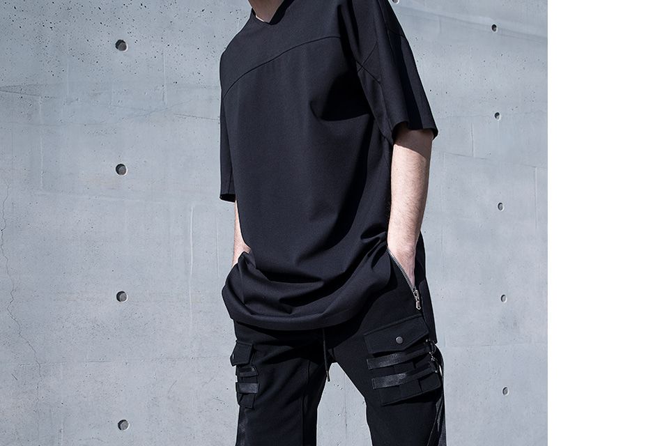 Oversized Solid T-shirt